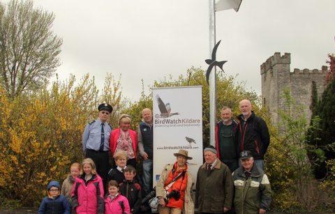 Swift tower installed in Kildare by BirdWatch Kildare
